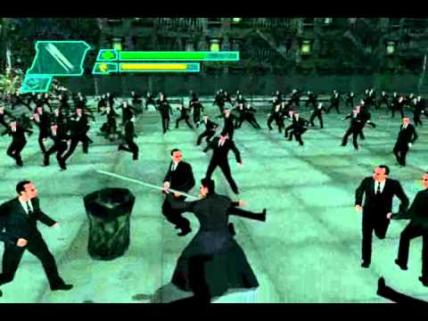 The Matrix : Path of Neo [PC]  Gameplay