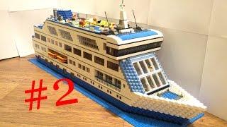лего круизный лайнер 2.0 (самоделка) часть2 / Lego MOC cruise ship 2.0 part2