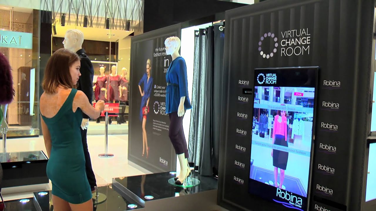 Robina Town Centre Virtual Change Room Youtube