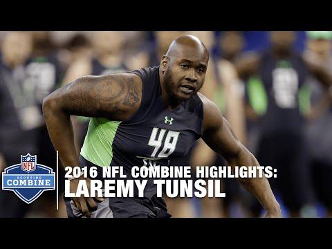 Laremy Tunsil (Ole Miss, OT): 2016 NFL Combine Highlights