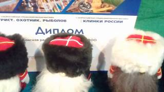 Выставка ножей, топоров, шашек - ''Клинки России''. Донская ремесленная фабрика