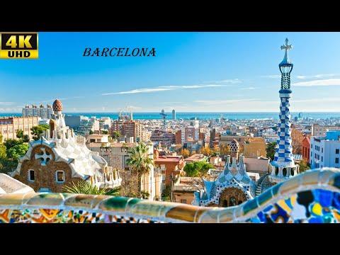 Barcelona Spain 4K Ultra HD Video Барселона Испания 4К видео 西班牙巴塞罗那