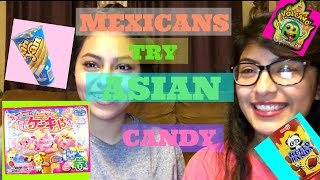 Mexicans try Asian Candy and Snacks