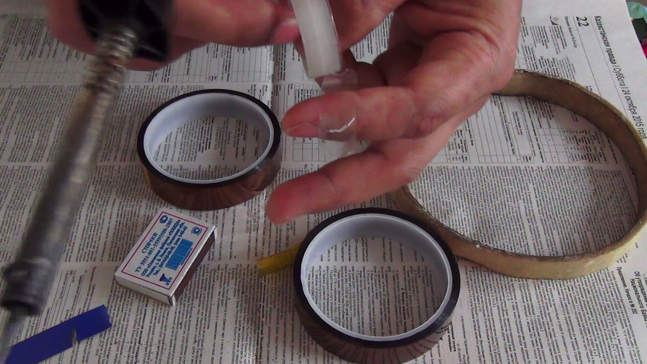 Полиимид фольгированный марок пф-1 и пф-2 представляет собой композиционный материал, состоящий из полиимидной пленки и клея на основе эпоксиднокаучуковой композиции и облицованный с одной или двух сторон медной электролитической гальваностойкой фольгой толщиной 35 мкм.