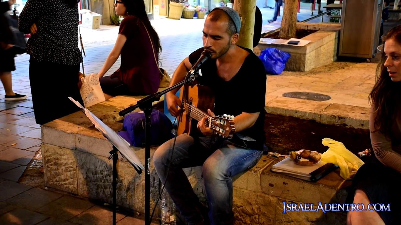 Talento en las calles de Jerusalén