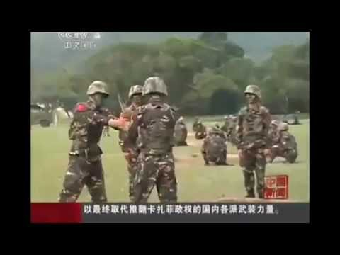 Chinese Army play Hot Potato with a Hand Grenade!!!!