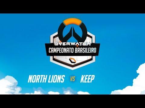 North Lions Black vs Keep Gaming - Semana 4 - Overwatch Campeonato Brasileiro: Fase de Grupos