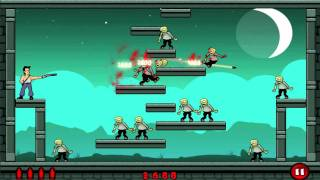 Stupid Zombies: 3 Stars - Chapter 1, Stage 1, Levels 1-30