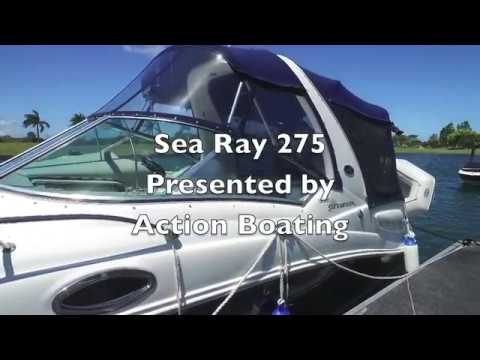 Sea Ray 275 for sale, Action Boating, boat sales, Gold Coast, Queensland, Australia