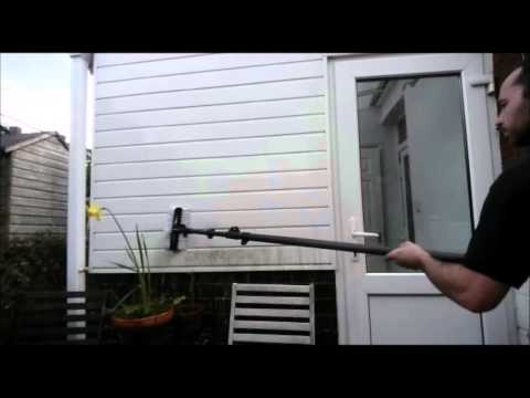 PVC cleaning demo - Exeter - PureWash Cleaning Contractors
