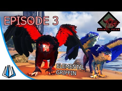 Elemental Fire & Ice Griffin! - ARK: Primal Fear #EP3