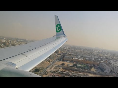 Boeing 737-800 Full Approach Into Dubai