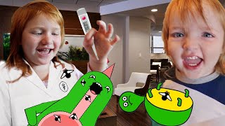 PET VET with NiKO!!  Doctor Adley takes care of animals! pretend play pet clinic! Adleys app reviews