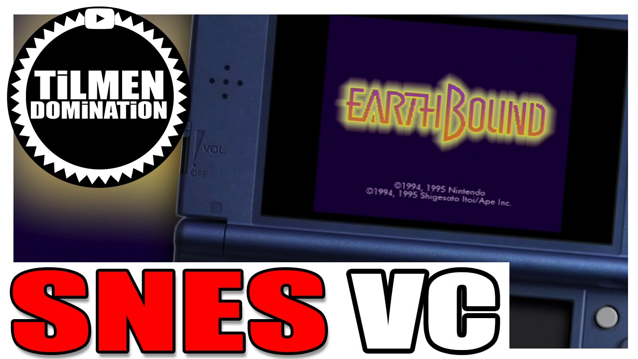 (New 3DS SNES VC) EARTHBOUND (Mother) / First Minutes Gameplay