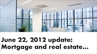 Ottawa Mortgage Man - Parliament Hill: New Mortgage Rules - June 21 2012
