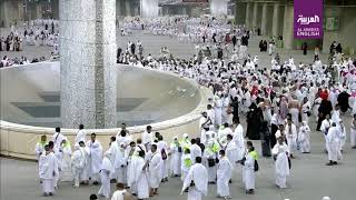 Hajj pilgrims symbolically 'stone devil' in last major ritual