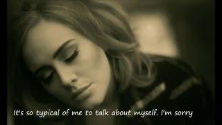 Adele - Hello Lyrics [Nightcore] ♥ Download ♥