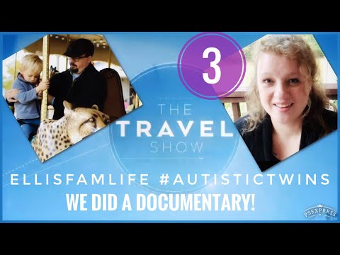 ✈️🧳AUTISM TRAVEL NONVERBAL AUTISTIC BOY TWINS: What was it like to travel with the BBC???!!!