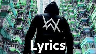 Alan Walker - Sing Me To Sleep【Lyric Version】