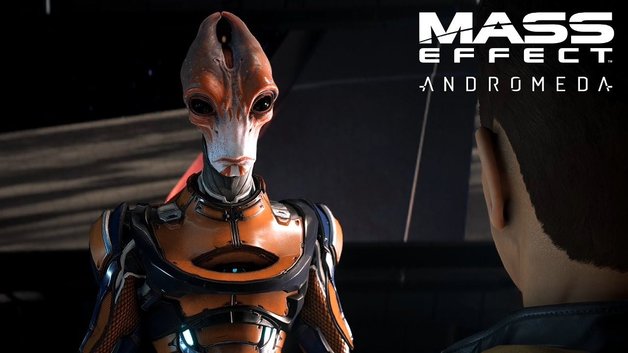 Mass Effect Andromeda Blind Lets Play Part 75 Saving The Salarian Ark And Pathfinder Insanity