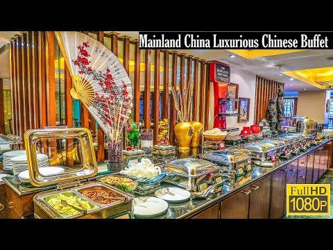 Luxurious Lavish Chinese Buffet Of Mainland China Ballygunge || মেনল্যান্ড চায়না