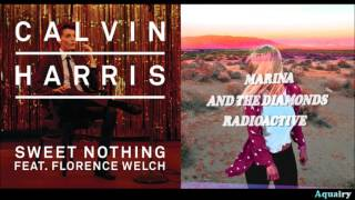 Calvin Harris ft. Florence Welch vs. Marina & the Diamonds - Sweet Radioactive Nothing (Mashup)