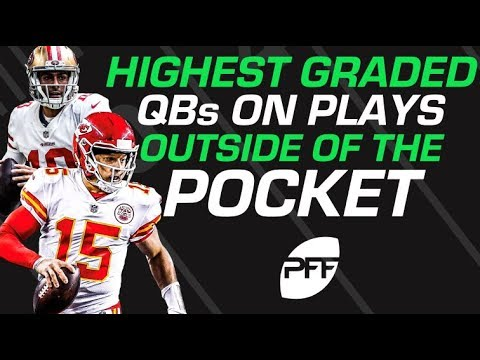 FS365 Recommended: Highest graded QBs on plays outside of the pocket | PFF