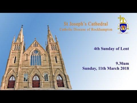 9.30am Mass, Sunday 11th March 2018