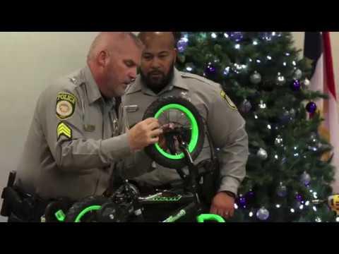 Gaston County Police Assemble Bikes