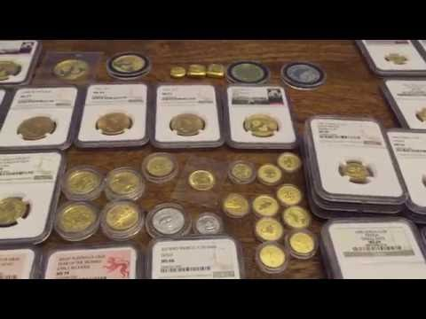 Full Gold Stack and 1/10 Gold Panda Collection!