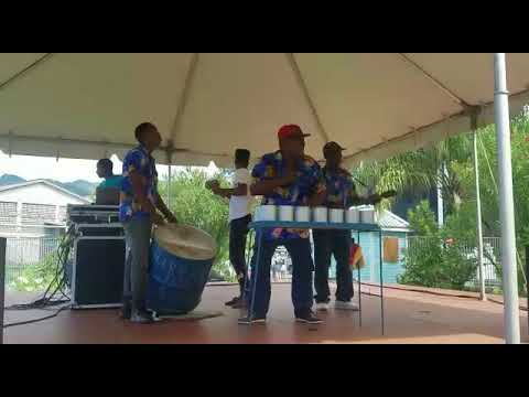 HARMONITES AT THE CRUISE SHIP TERMINAL IN ST. VINCENT AND THE GRENADINES