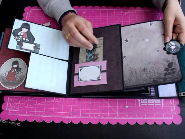 Album Gorjuss Nueva Colección Bellaluna Crafts Scrapbooking Youtube