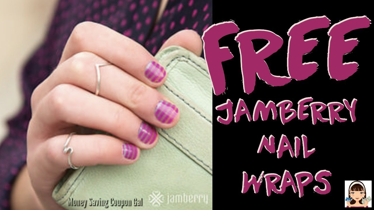 FREE JAMBERRY 💅 NAIL 💅WRAPS - YouTube