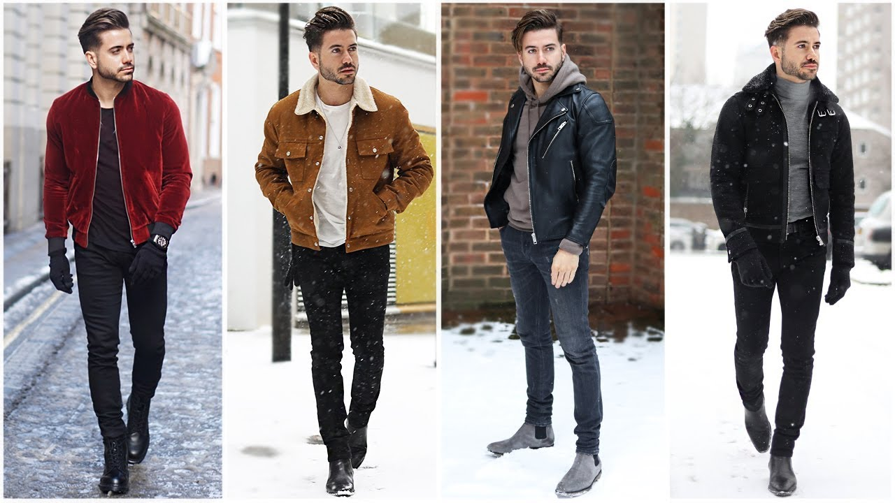 4 EASY OUTFITS FOR MEN | Men's Outfit Inspiration | Men's ...