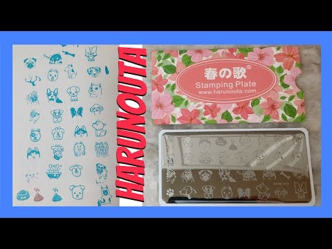 Harunouta Stamping Plate