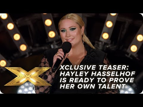 XCLUSIVE TEASER: Hayley Hasselhoff is ready to prove her artistic talent! | X Factor: Celebrity