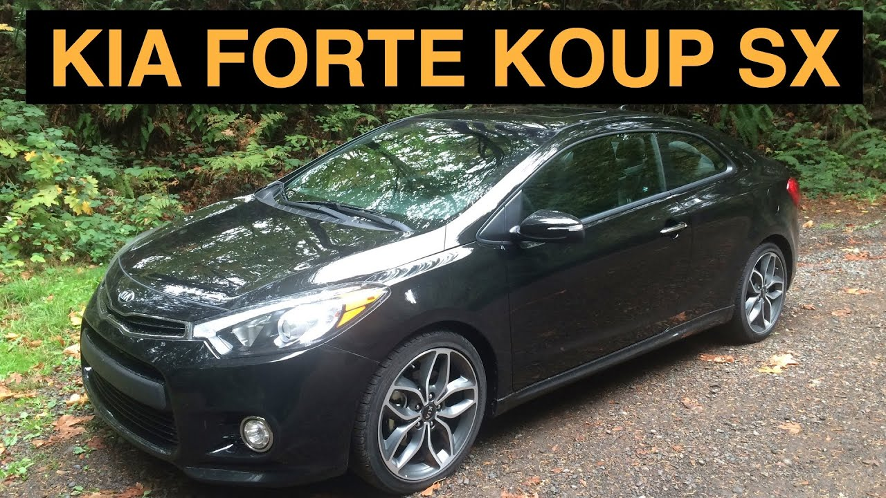 2015 kia forte koup sx review test drive youtube. Black Bedroom Furniture Sets. Home Design Ideas
