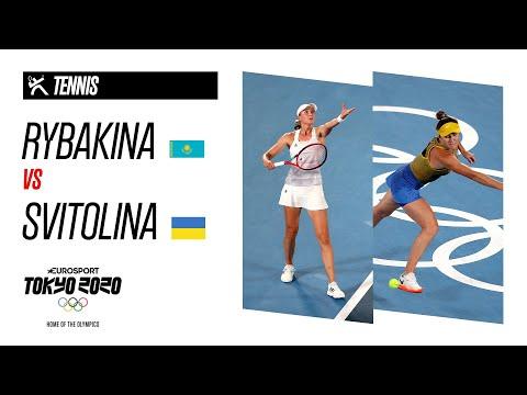 RYBAKINA vs SVITOLINA   Tennis - Bronze Medal Match - Highlights   Olympic Games - Tokyo 2020