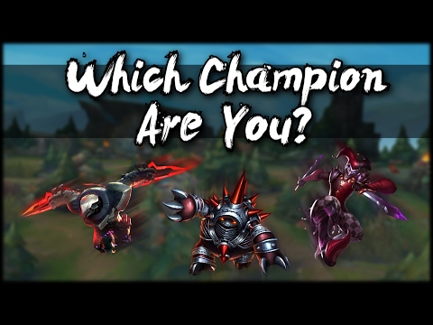 Which League of Legends Champion Are You? 🔷 Interactive Personality Quiz 🔷 5 Questions