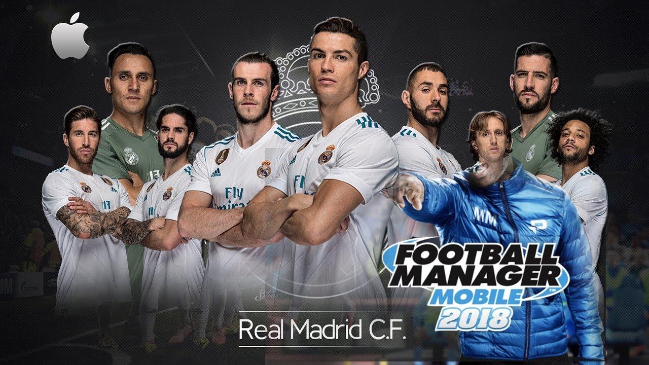 FMM 2018 Cheat MOD - Real Madrid 2017/18 Best Team Ever