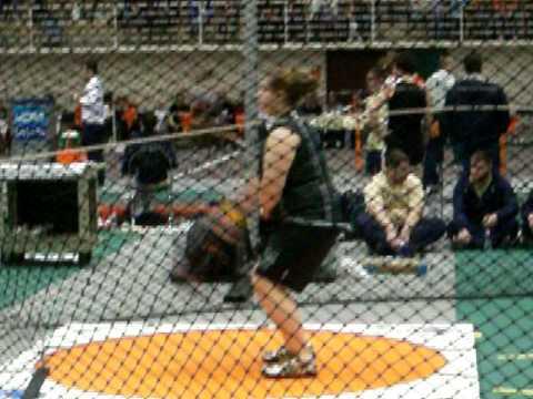 Alyssa McMullen Weight Throw #3 ONU 2/27/09