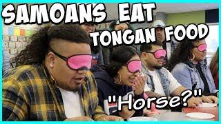 Samoans Try Tongan Food - Jess & Ayva