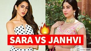 Sara Ali Khan vs Janhvi Kapoor Songs Battle #16 | Which Bollywood Song Do You Like The Most?