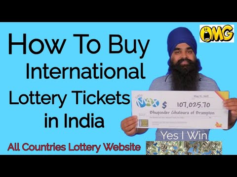 How To Buy Powerball Lottery In India|how To Buy Online Lottery In India|buy International Lottery
