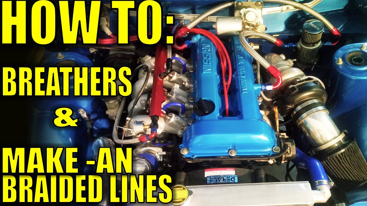 how to big turbo sr20 catch can setup detailed  [ 1280 x 720 Pixel ]