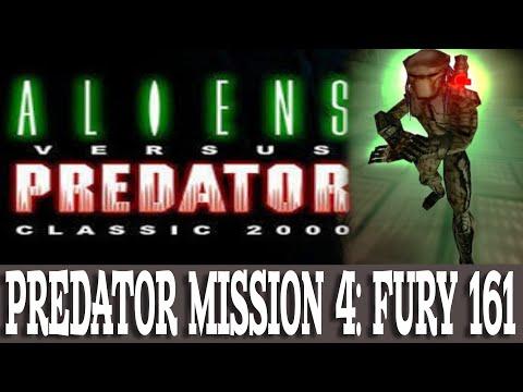 Aliens versus Predator Classic 2000 Walkthrough Predator 4 Fury 161 (Gameplay/No Commentary) |