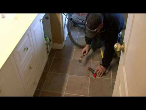 Removing Ceramic Floor Tile >> How to Remove Ceramic Floor Tile - YouTube