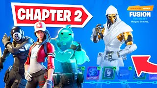 *NEW* CHAPTER 2 BATTLE PASS in Fortnite - Tier 100 UNLOCKED! thumbnail