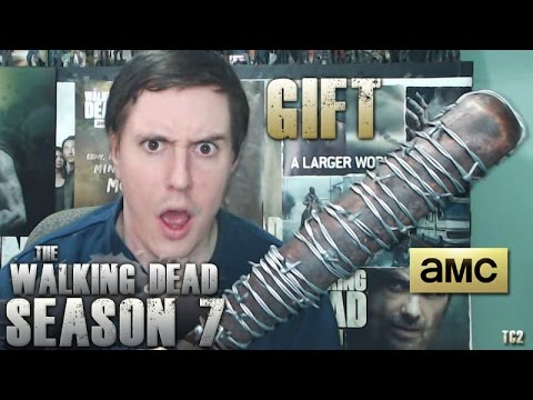 The Walking Dead Season 7 AMC Gift Unboxing! MeetLucille