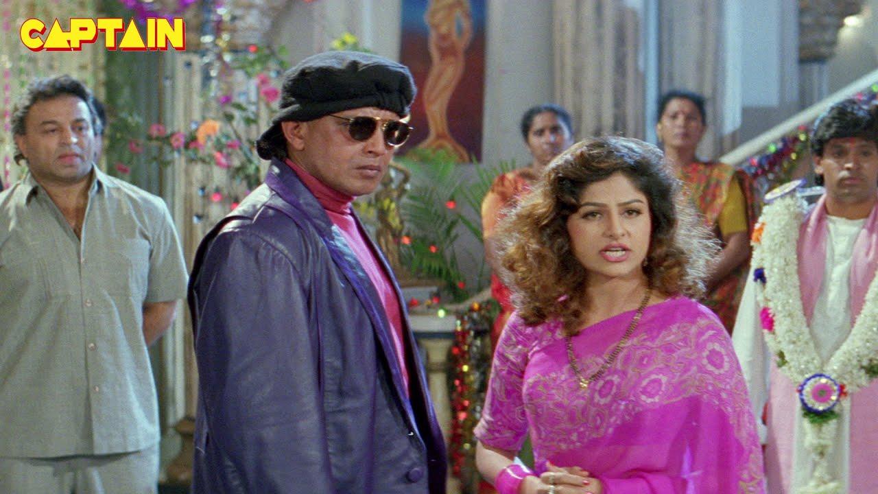 """मिथुन चक्रवर्ती, आयशा झुल्का और पुनीत इस्सार की नई रिलीज़ हिंदी एक्शन फिल्म """" मुकद्दर """" #Mithun"""